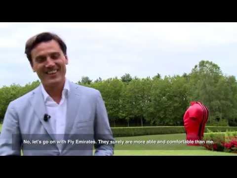 #askMontella: welcome AC Milan Coach
