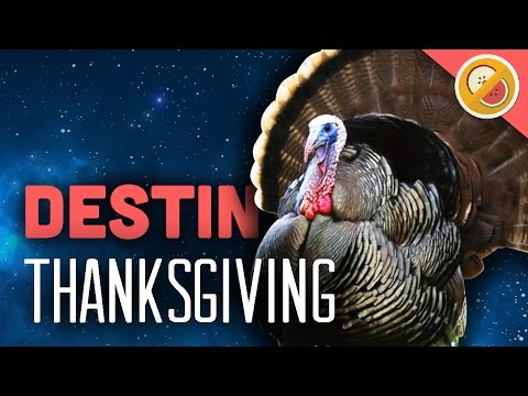 """DESTINY CHALLENGE """"Thanksgiving"""" Custom Game (Funny Gaming Moments)"""