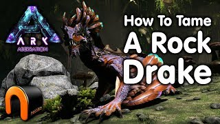 ARK - HOW TO TAME A ROCK DRAKE In Aberration