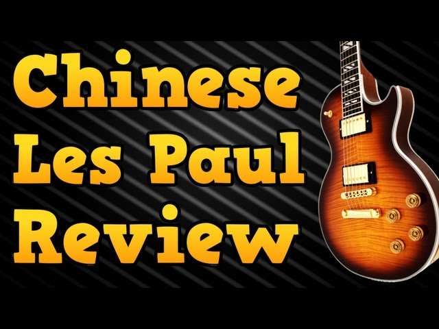 Chinese Gibson Les Paul Supreme Copy (Review & Overview)