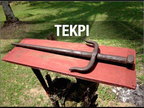 Silat Suffian Bela Diri - Tekpi (Sai) Flow, Strikes and Joint Locks