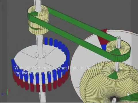 Magnetic Gear Invention (Frank Fecera's Permanent Magnet Motor patent reconstruction) Music Videos