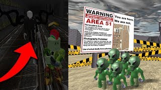 PROBEER TE OVERLEVEN IN AREA 51! *SLENDER, JEFF THE KILLER EN RAKE!* (Roblox Area 51)