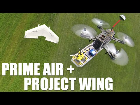 Flite Test - Google Project Wing + Amazon Prime Air