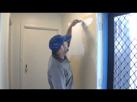 How To Paint A Door - How to apply paint to a door without brush marks