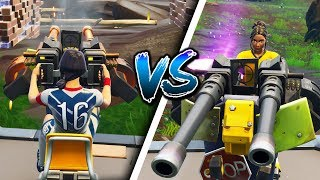 I had PRO Fortnite Players 1v1 ONLY using TURRETS!! - (HILARIOUS Fights)