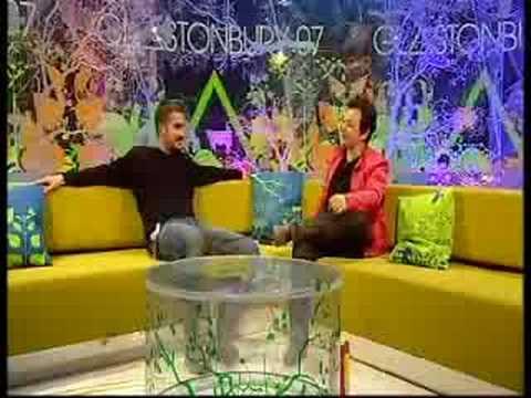 James Dean Bradfield Interview Glastonbury