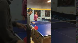 First table tennis lesson