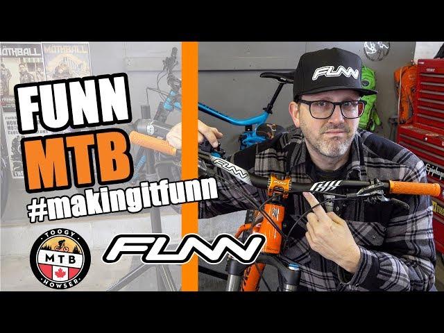 FUNN MTB Full On Handlebars / Crossfire Stem Install / Trek Roscoe 8 thumbnail