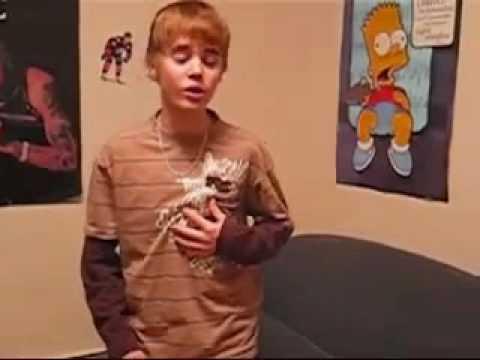 JustinBieber Singing Chris Brown (Before He Got Famous)