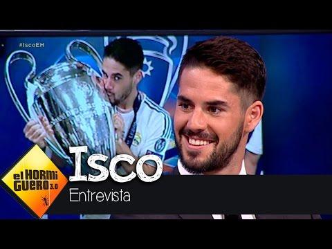 """Isco: """"El Real Madrid quedará 2-0 en la final de la Champions"""" - El Hormiguero 3.0"""