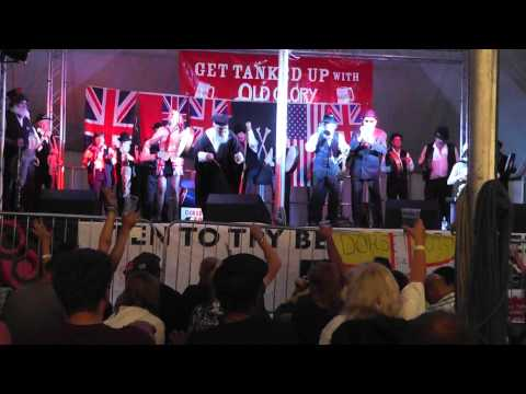 Dr. Busker - Drunk & Disorderly - The Great  Dorset Steam Fair - England  2013