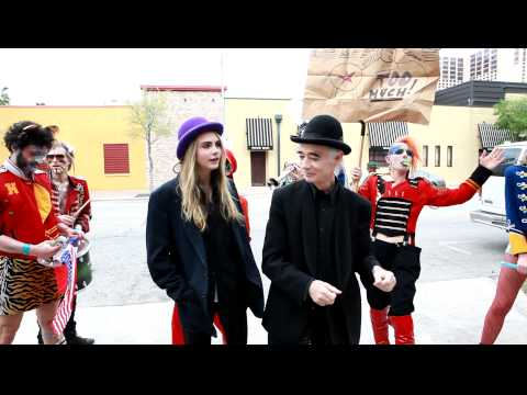 BP Fallon & Cara Delevingne's Marching Band