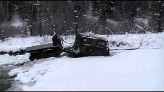 Extreme Hagglunds - Ice Breaking River Fun.mp4
