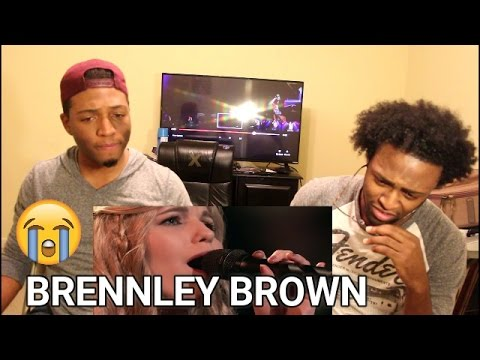 "The Voice 2017 Knockouts - Brennley Brown: ""Up to the Mountain"" (REACTION)"