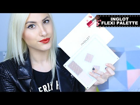 INGLOT Freedom Flexi Palette   Review & Demo - Z-Palette Dupe ♡ Stefy Puglisevich