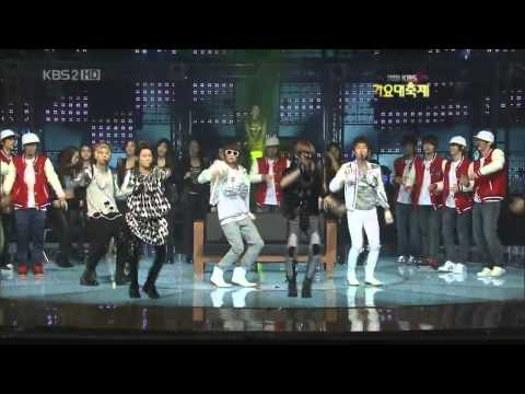 SHINee - Just Dance (KBS gayo daejun 091230) Music Videos