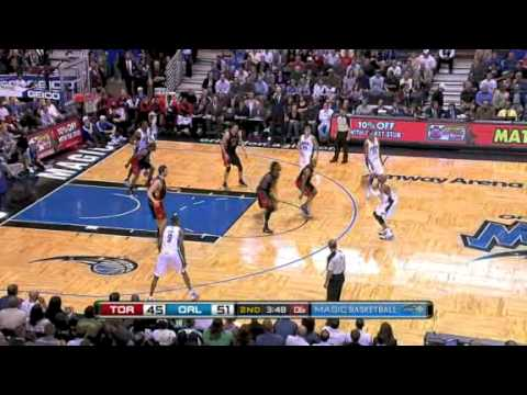 Toronto Raptors vs Orlando Magic Recap (December 16, 2009)