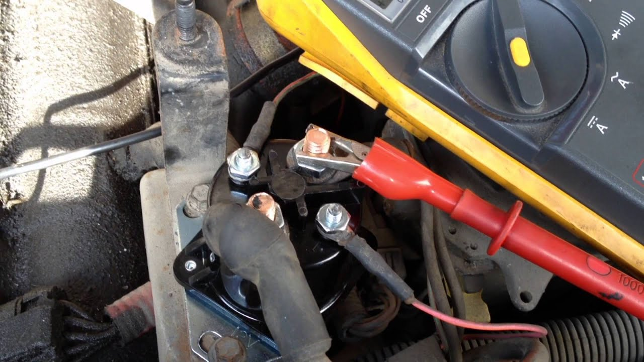 7 3l Powerstroke Cold No Start Diagnosis- Glow Plug Relay
