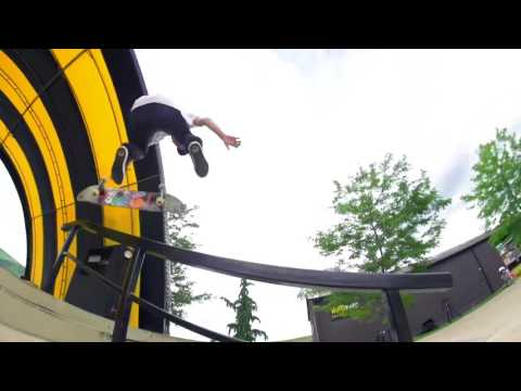 Greg Lutzka Skate session at Camp Woodward