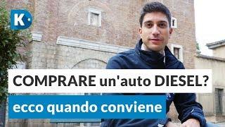 COMPRARE un'auto DIESEL? Ecco quando conviene + i blocchi del traffico in Italia