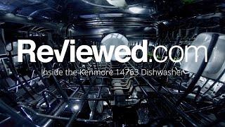 Inside the Kenmore Elite 14763 Dishwasher