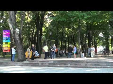 Istoria Moldovei povestită ruseşte în park