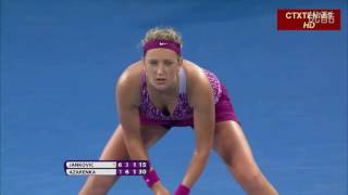 Victoria Azarenka VS Jelena Jankovic Highlight Brisbane 2014 SF