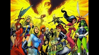 TOP 5 MOST POWERFUL WOMEN IN MARVEL!