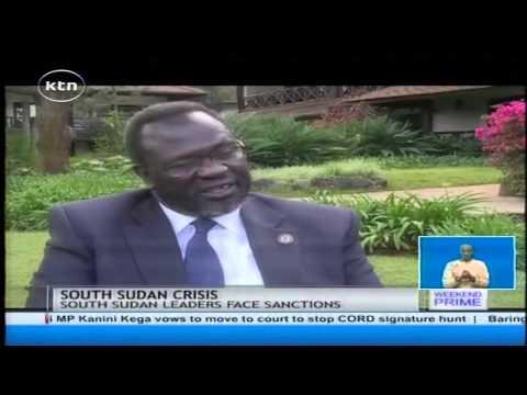United States of America to issue more sanctions against Salva Kiir Riek Machar