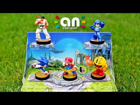 Super Smash Bros. amiibo Diorama | Nintendo Inquirer Unboxing (4K)
