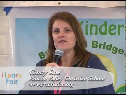 i Learn Fair 2013 - Cindy Roe, Rincon Valley Christian School