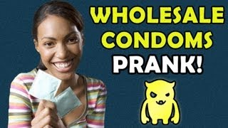 WHOLESALE C0NDOMS PRANK