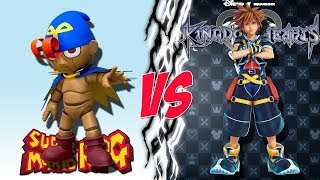 Geno VS Sora - Square Enix Showdown for Super Smash Bros Ultimate