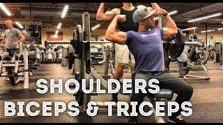 Shoulders | Biceps & Triceps | Full Workout