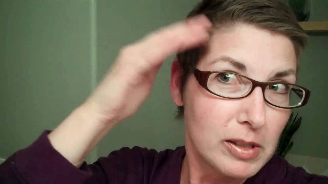 Post Chemo Hair Growth + Style - YouTube