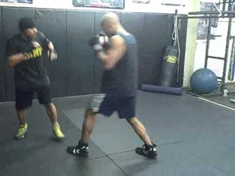 Boxing Defense Training Workout Secrets Cutting Off The Ring Drill. Image 1