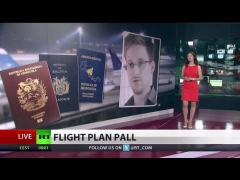 Thorny Route: Snowden weighs 3 S. American asylum offers, itinerary unclear