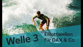 Welle3: Wirds brenzlig oder kommt noch mehr? Dax, SPX Update