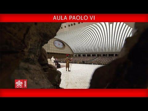 "Papa Francesco – Aula Paolo VI- Udienza al Centro ""Sardegna Solidale""2018-11-30"
