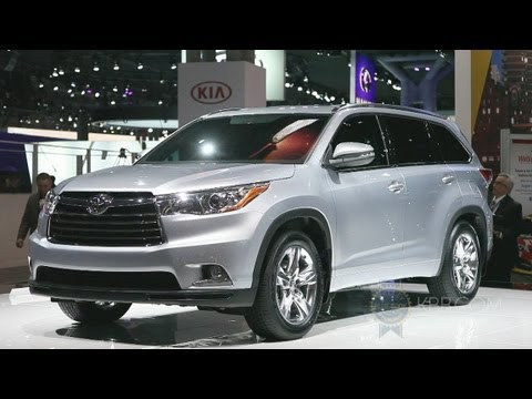 2014 Toyota Highlander -- 2013 New York Auto Show