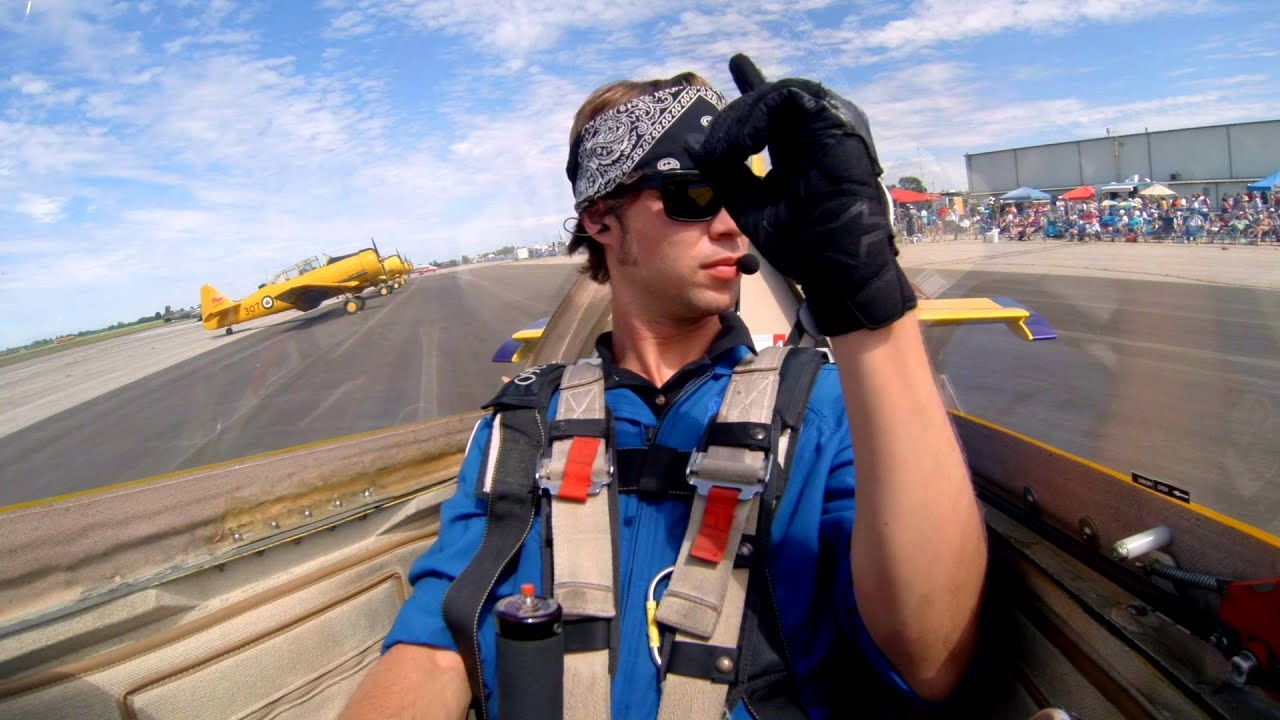 Check out the amazing aerobatics performed by this young pilot! Mike Tryggvason was one of the amazi...