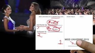 Why did Steve Harvey mess up the Miss Universe 2015 Pageant? UI/UX Mistake