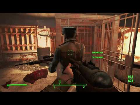 """Fallout 4 - 10 Minutes in Boston Ep 4 """"The Green Building"""""""