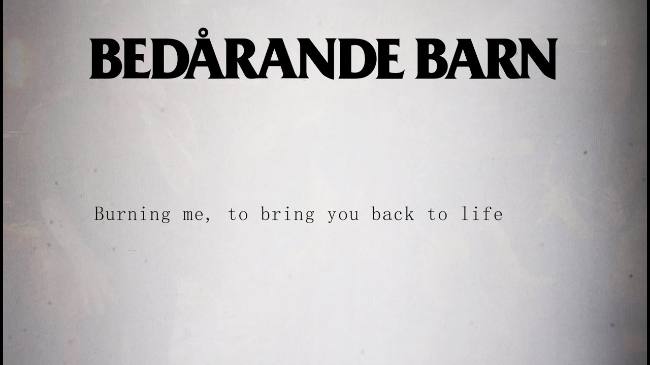 Bedårande Barn - Back to Life (acoustic) (from Back to Life – A Tribute to Goodbye to Gravity)