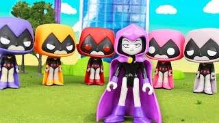 TEEN TITANS GO! - Colors of Raven - Parody - by Epic Toy Channel