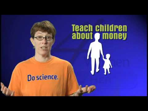 Finance 4 Her Tip of the Day - Teach Children