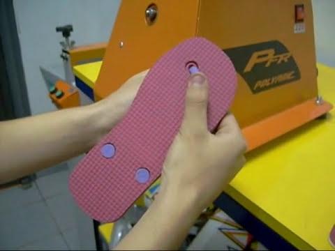 Fazendo chinelos - POLYMAK