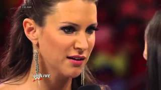 Brie Bella and Stephanie McMahon agree to match