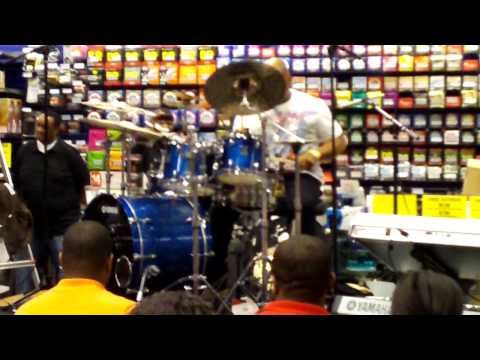 Calvin Rodger's Drum Clinic@guitar center